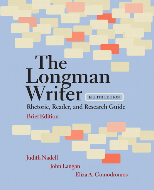 Nadell langan comodromos longman writer the rhetoric reader longman writer the rhetoric reader and research guide brief edition fandeluxe