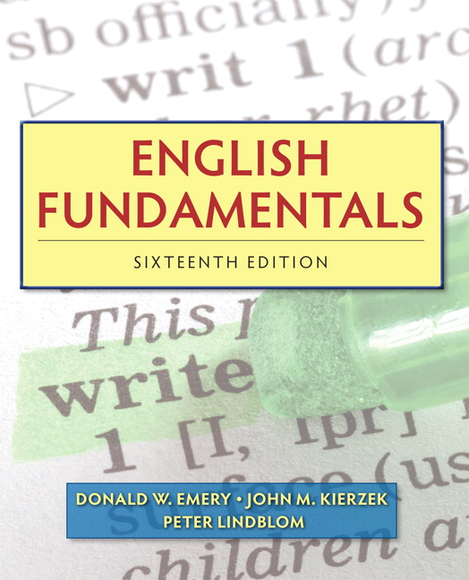 Emery kierzek lindblom english fundamentals pearson view larger fandeluxe Choice Image