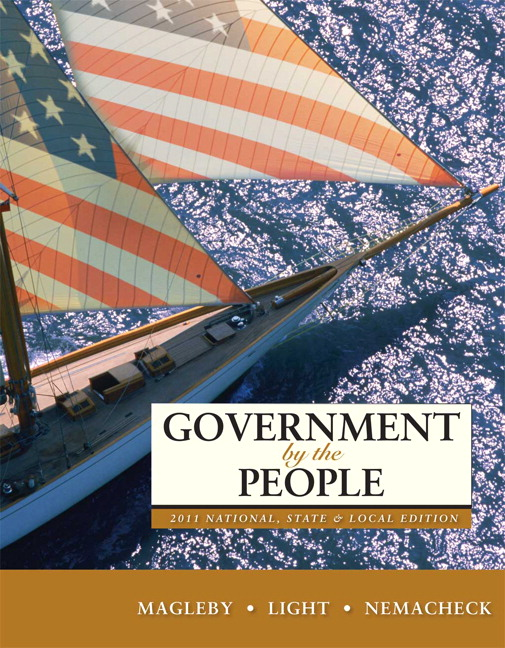 Government by the People, 2011 National, State, and Local Edition