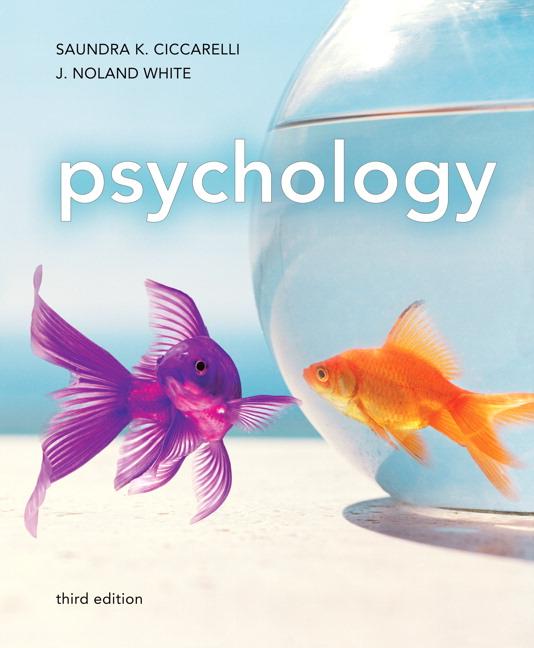 Ciccarelli Ciccarelli White Psychology Pearson