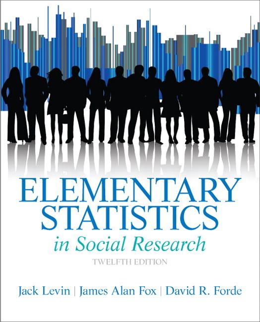 Levin, Fox & Forde, Revel for Elementary Statistics in Social