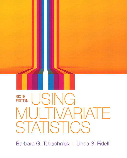 Using Multivariate Statistics, 6th Edition