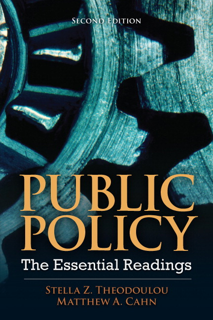 Public Policy: The Essential Readings, 2nd Edition