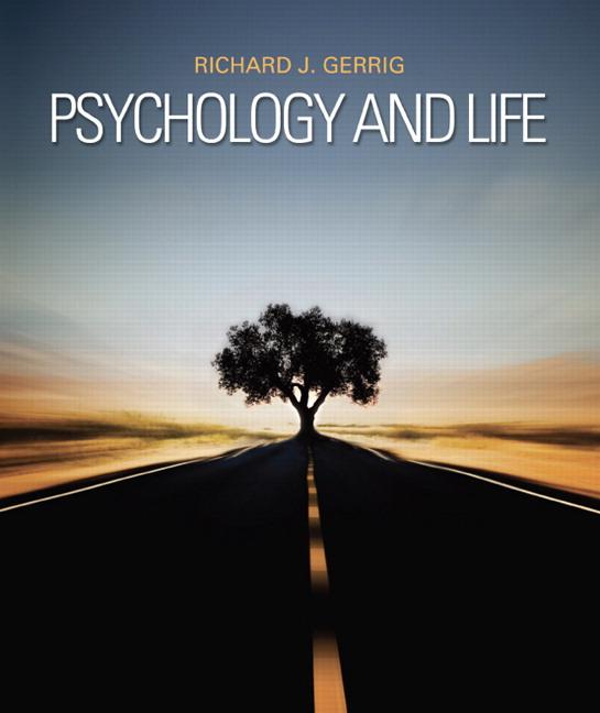 gerrig  psychology and life