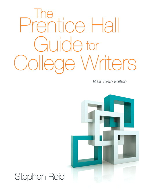 Reid prentice hall guide for college writers the brief edition view larger fandeluxe Choice Image