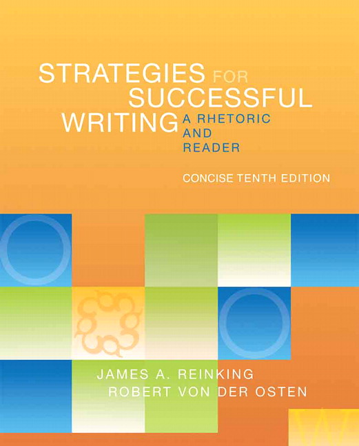 writing with a thesis a rhetoric and reader 11th edition Rhetorical analysis of a source article for the research paper:   refine writing  skills to include audience awareness, pre-writing, thesis generation, outlining,  essay organization  allyn & bacon concise guide to writing (8th ed) (isbn-10:  0-134-4265-2) available  reading critically, writing well: a reader and guide.