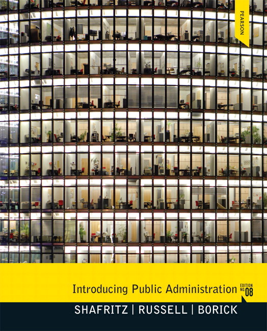 Introducing Public Administration, 8th Edition