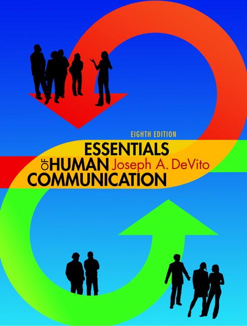 Devito Essentials Of Human Communication Pearson