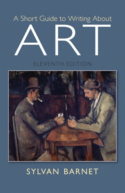 short guide to writing about art sylvan barnet pdf reader