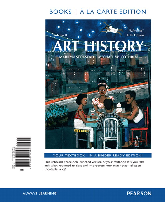 art history volume 2 books a la carte edition revel access card package 5th edition