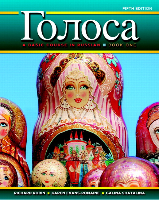Golosa: A Basic Course in Russian, Book One, 5th Edition
