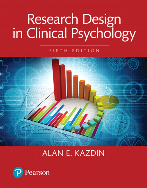 Research Design in Clinical Psychology -- Books a la Carte