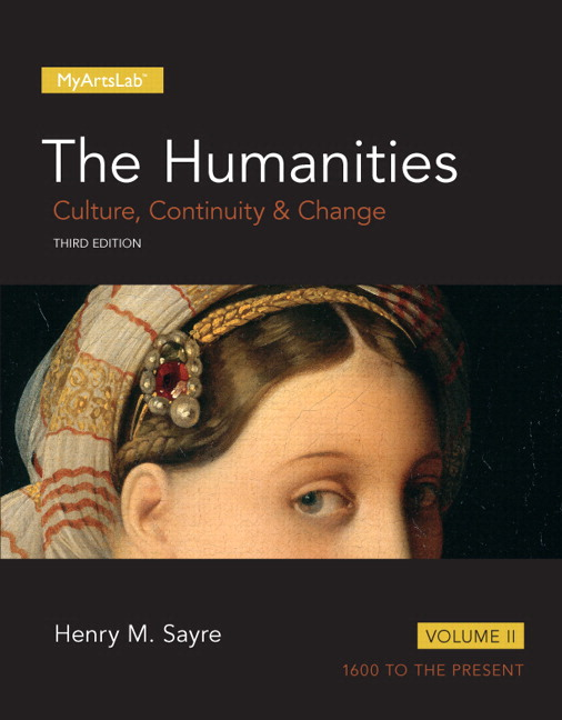 Sayre Humanities The Culture Continuity And Change Volume 2