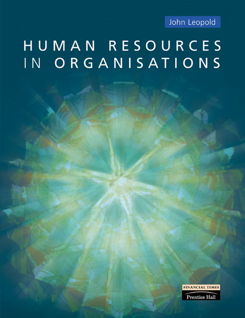 Human Resources in Organisations