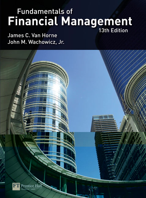 Van horne van horne wachowicz wachowicz van hornefundamentals van hornefundamentals of financial management 13th edition fandeluxe Gallery