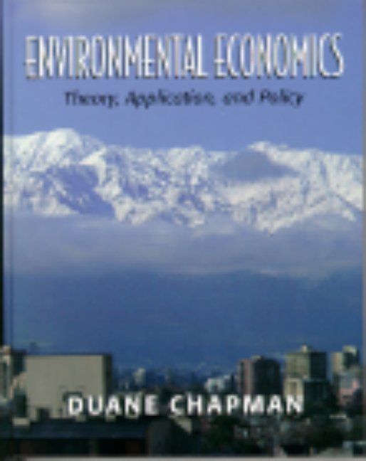 Environmental And Natural Resource Economics Solutions