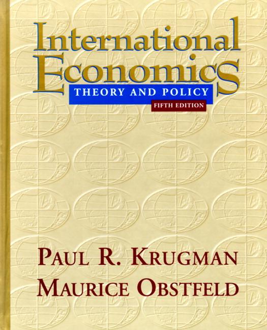 international economics krugman The nobel prize-winning op-ed columnist paul krugman comments on economics and politics  the international sector captures the capital payments that leave the .