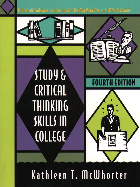 study and critical thinking skills in college mcwhorter For study skills and critical thinking this item is: study and critical thinking skills in college thinking skills in college, 8th ed , 2017, by mcwhorter.