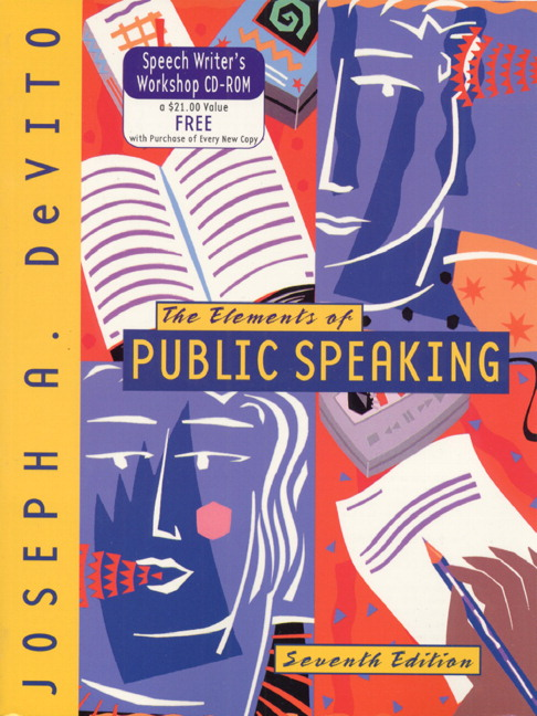 DeVito, Elements of Public Speaking, The, 7th Edition ...