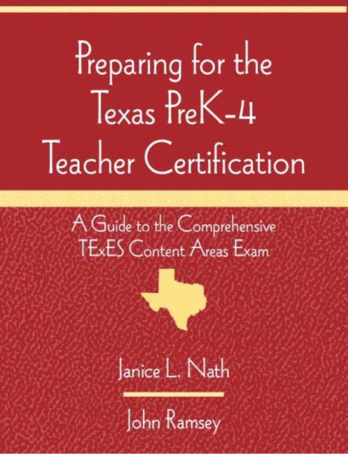 Nath Ramsey Preparing For The Texas Prek 4 Teacher Certification