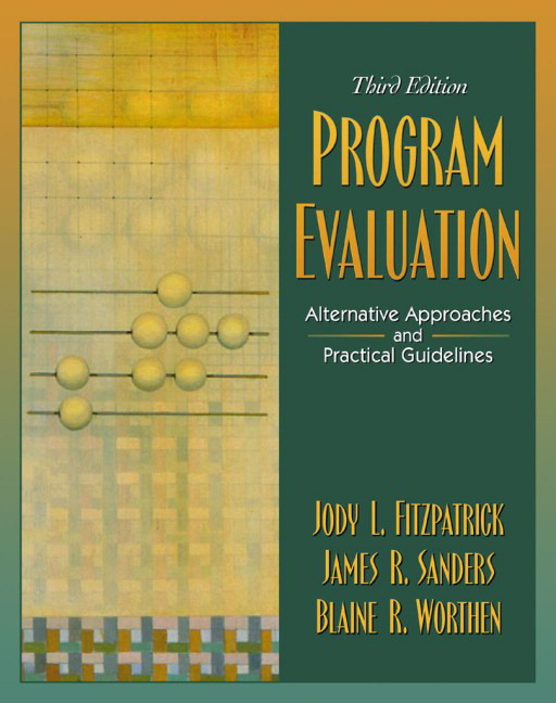 Fitzpatrick Sanders  Worthen Program Evaluation Alternative