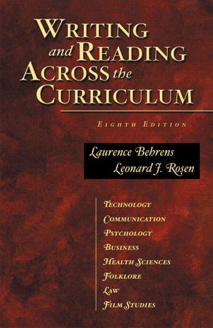 writing research papers across the curriculum by susan hubbuch Cengage advantage books: writing research papers across the curriculum (with the wadsworth essential reference card to the mla handbook) [susan m hubbuch.