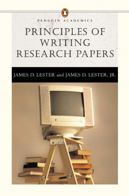 writing research papers james d lester Writing research papers: a complete guide (spiral) by james d lester description the definitive research paper guide, writing research papers combines a.