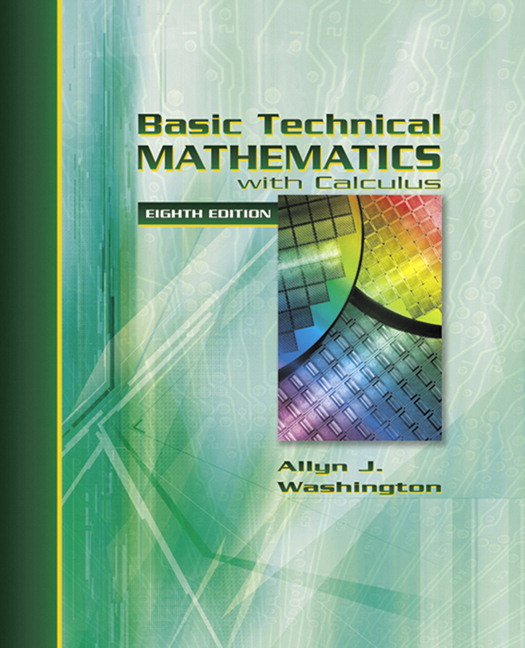 Washington basic technical mathematics with calculus 9th edition basic technical mathematics with calculus 8th edition fandeluxe Gallery