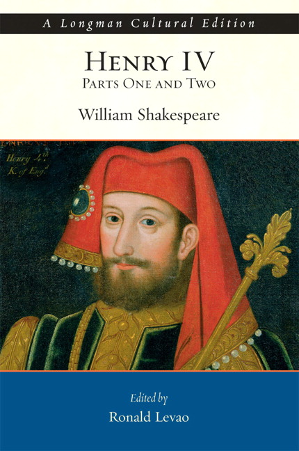 an analysis of the act one of henry iv a play by william shakespeare King henry iv the eldest son of john of gaunt, duke of lancaster, and grandson of edward iii, henry had returned from banishment on july 4, 1399, to claim the crown denied to him by richard ii as these events were dramatized in shakespeare's richard ii, he led a revolt against the crown, forced.