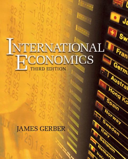 international economics gerber study questions essay