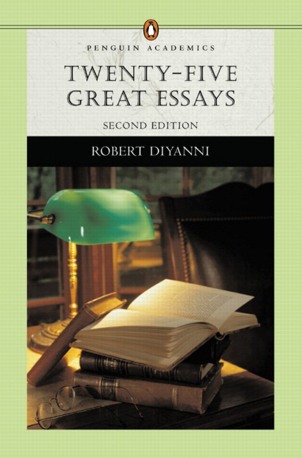 one hundred great essays fifth edition