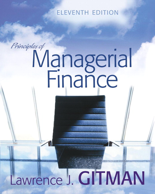 principles of managerial finance 11th edition by gitman essays