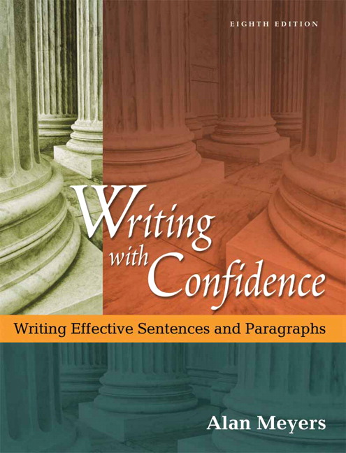 composing confidence writing effective paragraphs essays Composing with confidence by alan meyers, 9780321088314, available at book depository with free delivery worldwide.