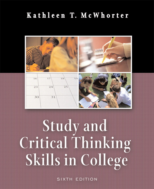 What is critical thinking and study skills