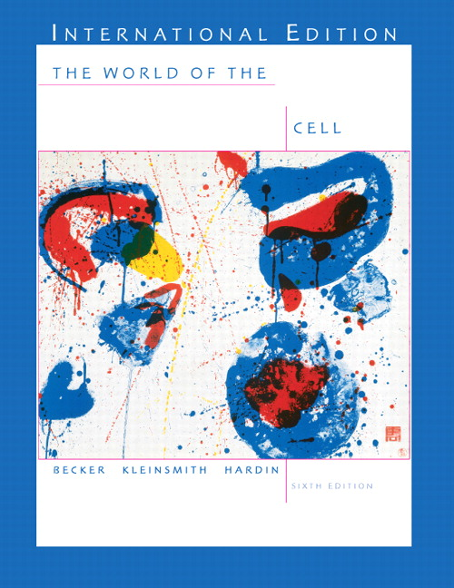 World of the Cell with CD-ROM: International Edition, 6th Edition