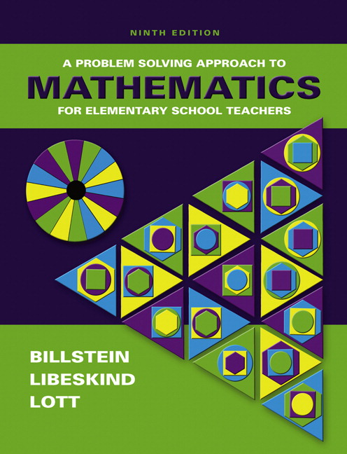 billstein libeskind lott a problem solving approach to mathematics for elementary school teachers