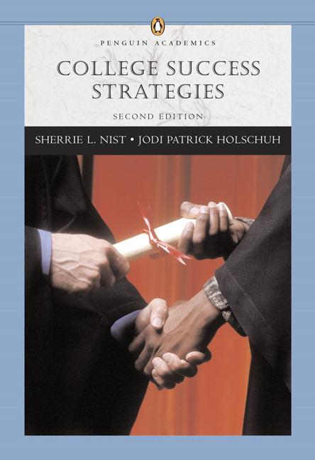 Nist-Olejnik & Holschuh, College Success Strategies (Penguin ...