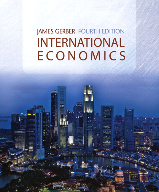 international economics gerber study questions essay Econ 380: international trade hw assignments (pdf files) hw answer keys (pdf files) quiz answer keys (pdf files) exam answer keys (pdf files) assignment #1.