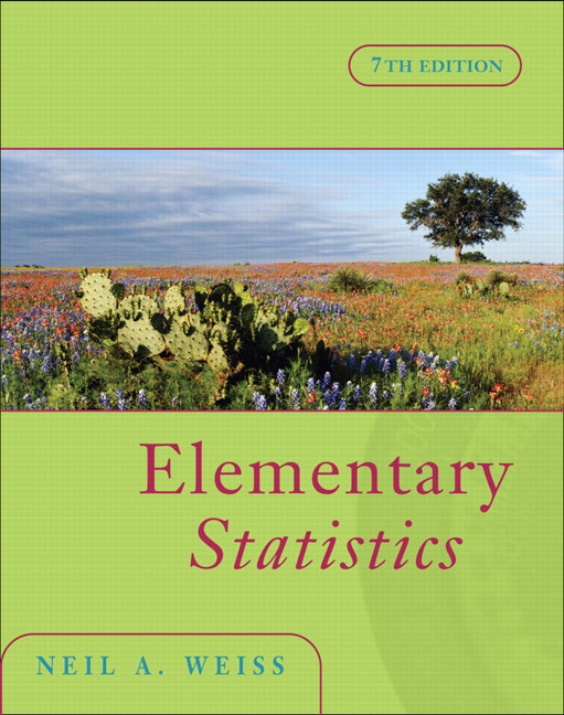 Weiss elementary statistics plus mylab statistics with pearson elementary statistics 7th edition weiss fandeluxe Images