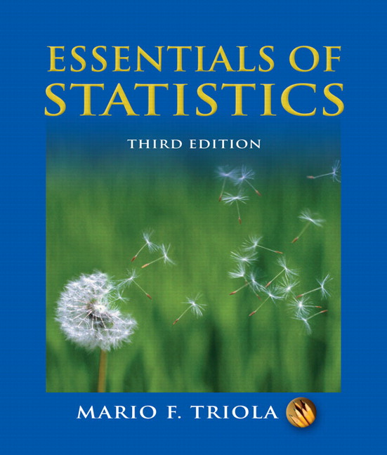 Triola essentials of statistics with mylab statistics student essentials of statistics 3rd edition fandeluxe Choice Image