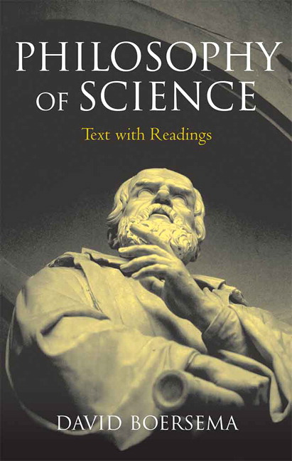 boersema  philosophy of science  text with readings