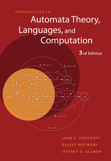 Introduction to Automata Theory, Languages, and Computation, 3rd Edition