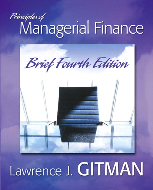 principles of managerial finance 11th edition by gitman solutions
