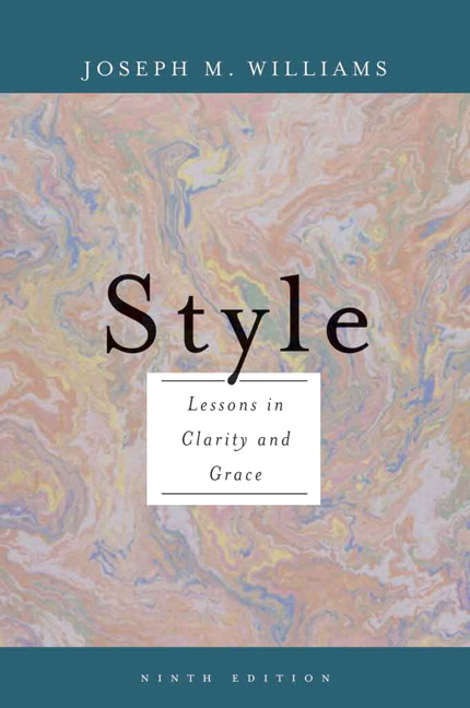 Style Lessons In Clarity And Grace 10th Edition Pdf