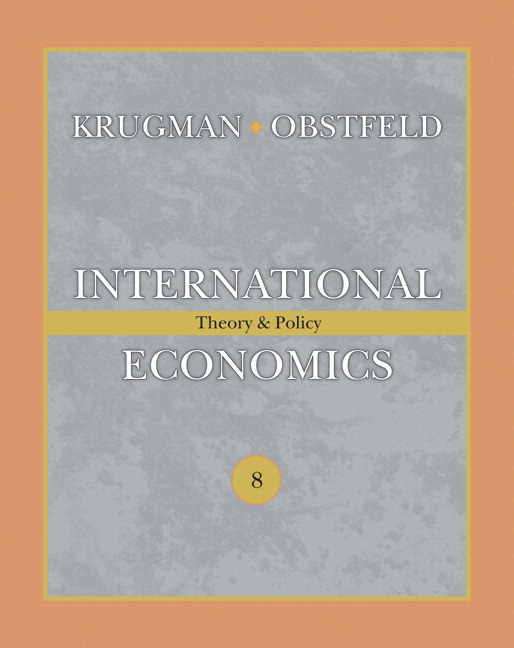 International Economics: Theory and Policy plus MyLab Economics plus eText 1-semester Student Access Kit