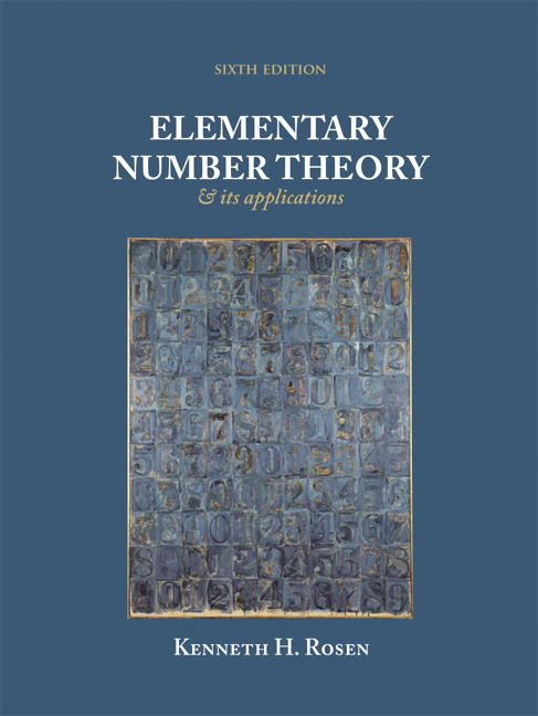 Elementary Number Theory, 6th Edition