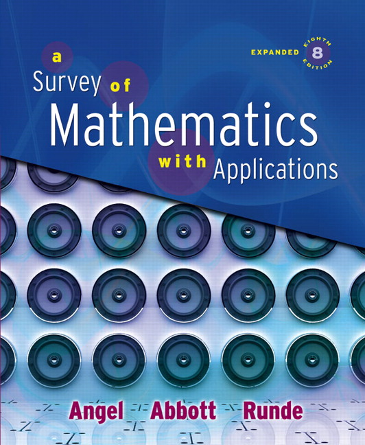 Amazon. Com: survey of mathematics with applications, alc plus.