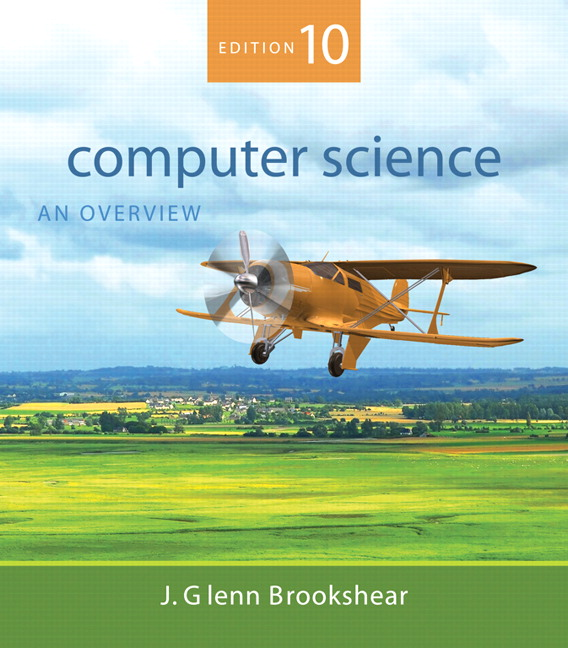 Brookshear Computer Science An Overview Pearson