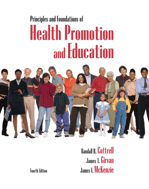 principles and policies of health promotion Deal with the concept and principles of health education and issues related to health and human behavior most people use the term health education and health promotion interchangeably however, health promotion is defined as a.