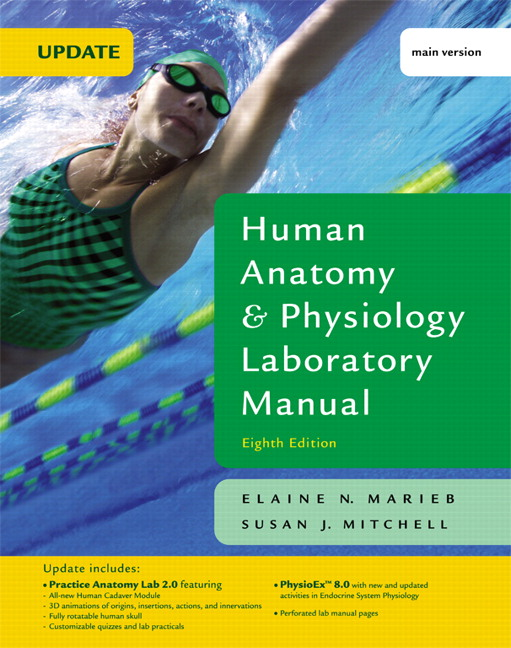 Marieb & Mitchell, Human Anatomy & Physiology Laboratory Manual with ...